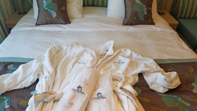 Carnival Cloud 9 Spa Room tour and review on the Carnival Sunshine