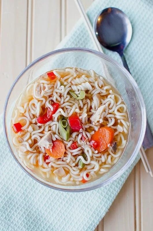 How to make a good chicken ramen noodle soup in crock crockpot