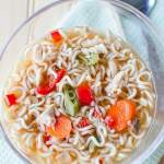 Slow Cooker Chicken Ramen Soup Recipe
