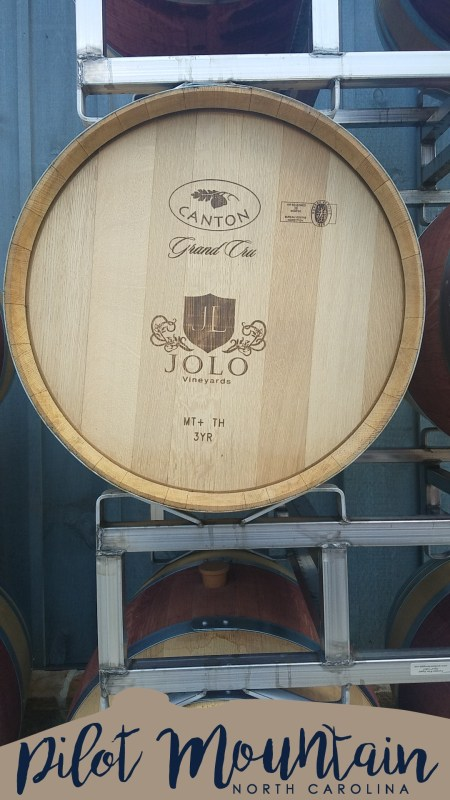JOLO Winery near Mount Airy North Carolina
