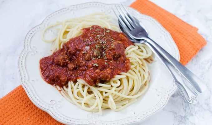 Slow Cooker Crock Pot Bolognese Sauce Recipe