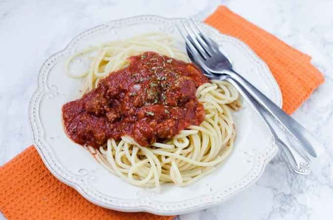 Slow Cooker Crock Pot Bolognese Sauce Recipe