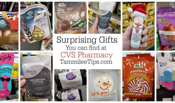 Surprising Stocking Stuffers and Gifts you can get from CVS Pharmacy