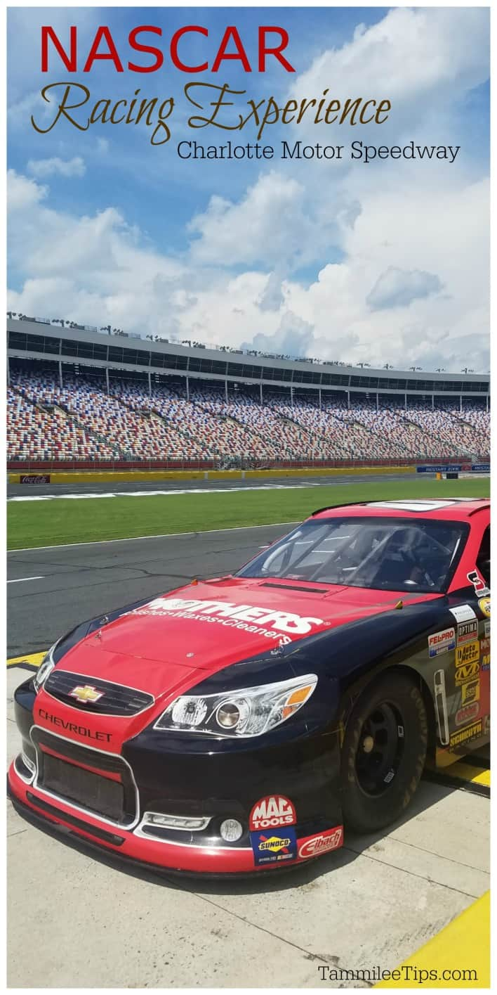 Thrills and prayers at the Charlotte Motor Speedway NASCAR Racing experience #nascar #charlotte