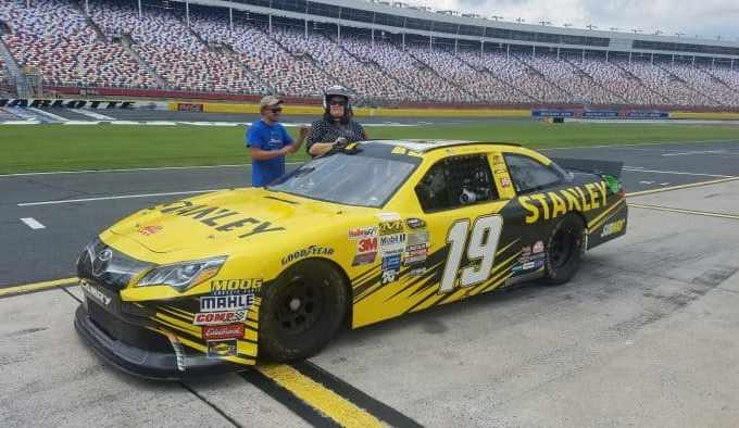 Thrills and prayers at the Charlotte Motor Speedway NASCAR Racing experience