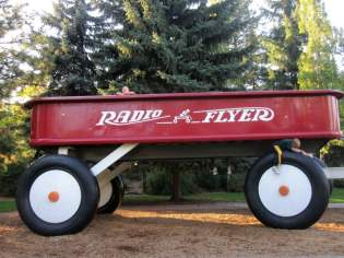 Radio Flyer in Spokane Riverfront Park