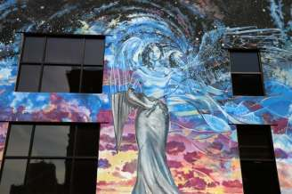 Grand Rapids Art Mural Angel