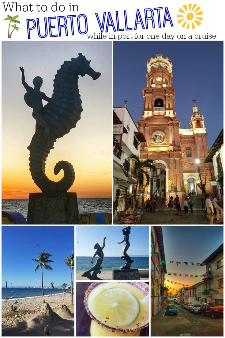 Visiting Puerto Vallarta on a cruise? Check out our Puerto Vallarta by Cruise Ship Guide to see all the things you can see and do in this great city! #puertovallarta #mexico #cruise #cruisetravel #travel #cruiseship