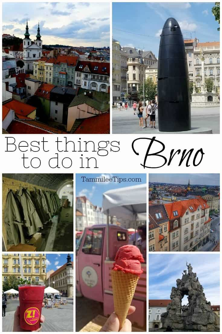 Top things to do in Brno Czech Republic! Travel pictures, where to eat for the best food, where to get a cocktail, architecture, UNESCO World Heritage Sites and so much more!