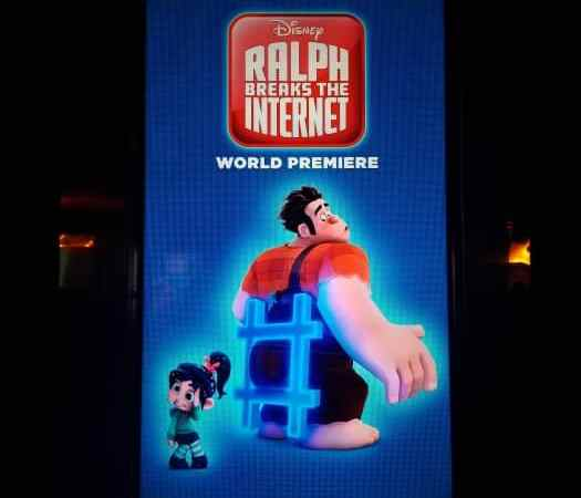 Ralph Breaks the Internet Premiere in LA!