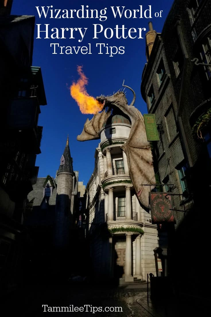 Wizarding World of Harry Potter at Universal Orlando Resort travel tips and tricks!  What you need to know to make the most of your time in Diagon Alley and Hogsmeade! Plus tips on what not to miss! These are our insider tips and hacks.  #UniversalOrlando #HarryPotter