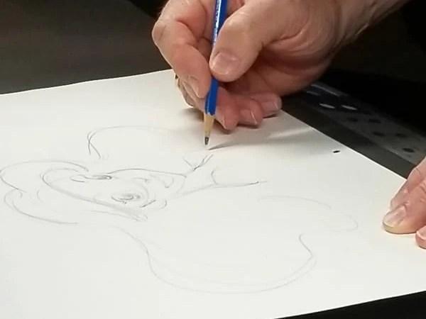Disney Animator Mark Henn Interview and Drawing Class
