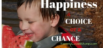 Happiness: Is it a choice or by chance?