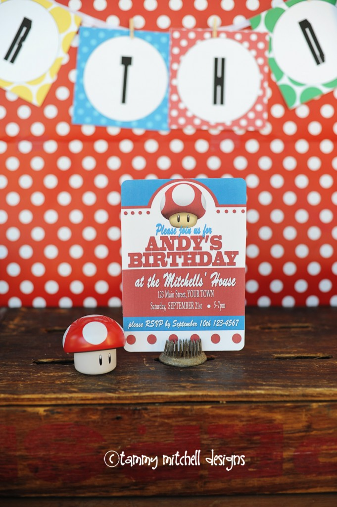 Boy Parties Video Game Parties Super Mario Brothers Party Ideas