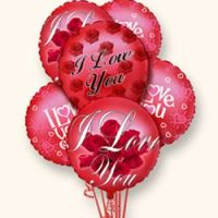 I Love You Balloon Bunch from Tammys Floral