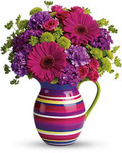 Rainbow Pitcher from Tammys Floral