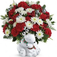 Send a Hug Cuddle Bears Bouquet from Tammys Floral