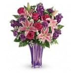 Luxurious Lavender Bouquet-tev49-1a
