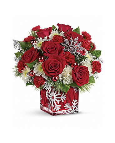 Silver Christmas Bouquet - T16X600C