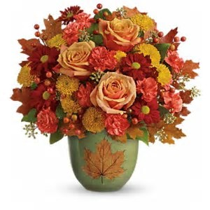 T17V400C - Fall of Heart Bouquet