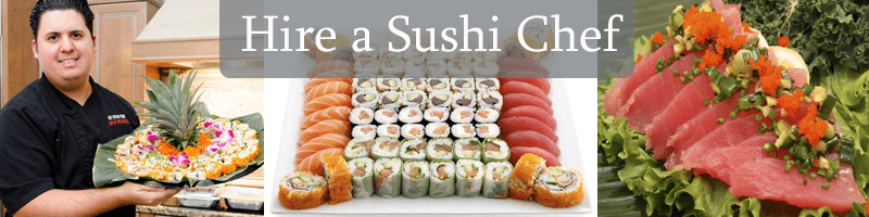 Hire a sushi chef!