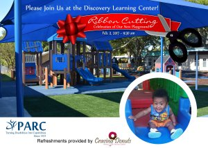 PARC's Discovery Learning Center Play Safe Park Grand Opening