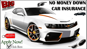 No Money Down Auto Insurance