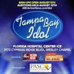 Tampa Bay Idol Auditions to be Held in Wesley Chapel