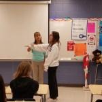 Coastal Orthopedics' physical therapist schools students on careers in health care