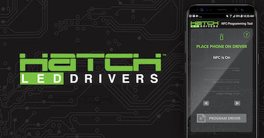 Hatch Led Drivers >> Hatch Lighting Customers Can Now Program Led Lighting Drivers With