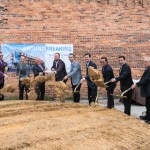 Groundbreaking for the hotel project in Ybor City on May 24, 2018