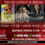 Downtown After Dark: Halloween in the City dubbed to be the biggest Adult Only Halloween Event in Downtown Tampa this Fall!