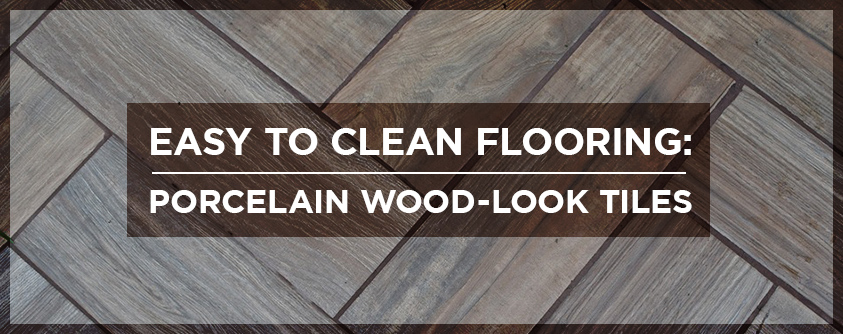 clean flooring porcelain wood look tiles