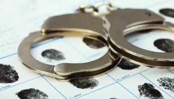 locked up jail arrested