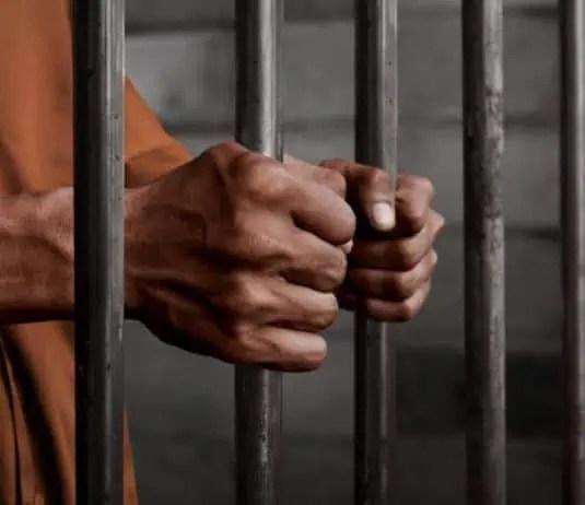 jail criminal locked