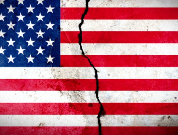 united states divided
