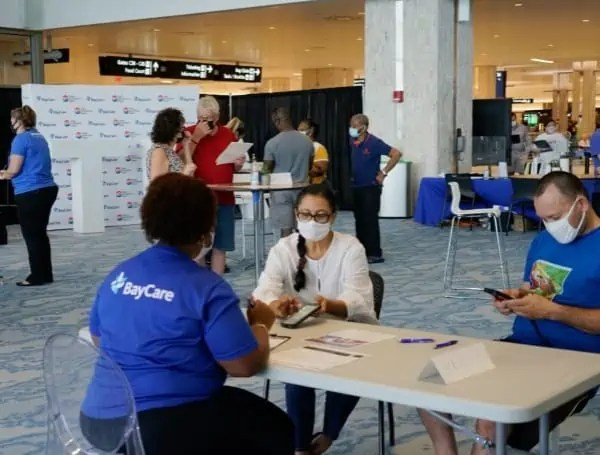 Get tested for COVID-19 at Tampa Airport