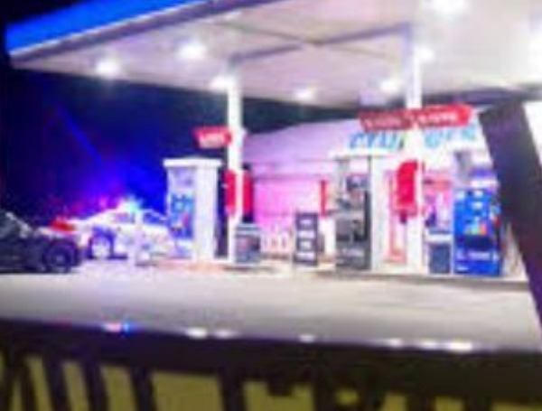 mobil gas station shooting