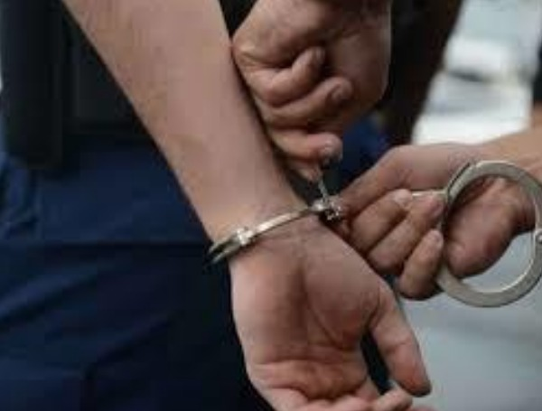Police Arrest Criminal Handcuffs