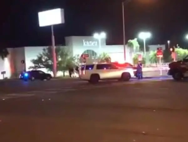 Clearwater Police and Clearwater Fire & Rescue are on scene of a shooting with multiple victims near the intersection of Drew Street and U.S. 19. Four victims have been transported to local hospitals. The first call came in at 9:30 this evening. The southbound access road of U.S. 19 south of State Road 590 and in the area of Drew Street is closed