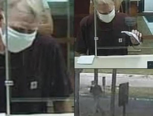Bank Robbery Wells Fargo