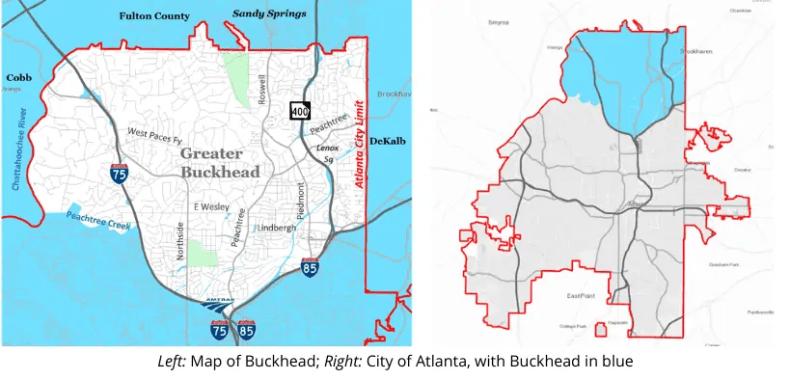 """The Push for """"Buckhead City"""" Atlanta"""