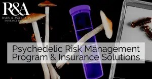 Rahn & Associates Provides Custom Coverages For Psychedelic Medicinal Businesses, including Directors & Officers Liability (including Excess Liability,) Product Liability, Professional Liability, IP Defense/Enforcement, Cyber Defense/Data Breach and More