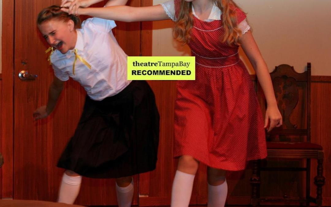 Four Great Reviews for The Children's Hour! Four More Performances!