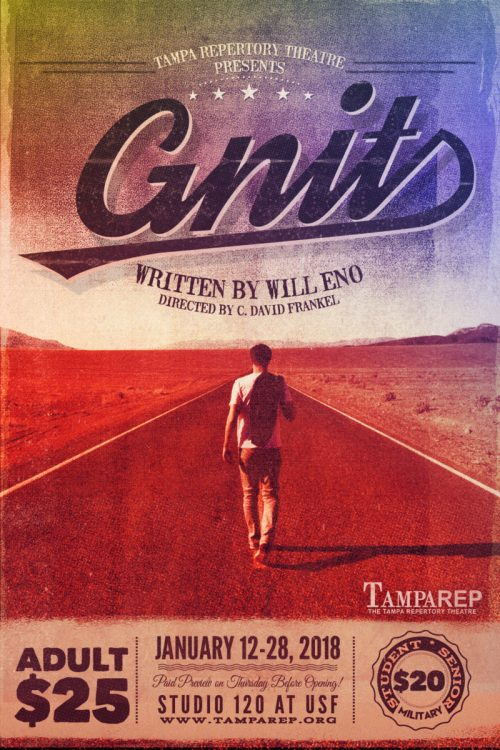 Poster for Gnit, by Will Eno