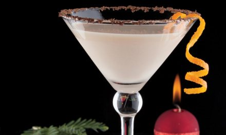 Orange Chocolate Martini