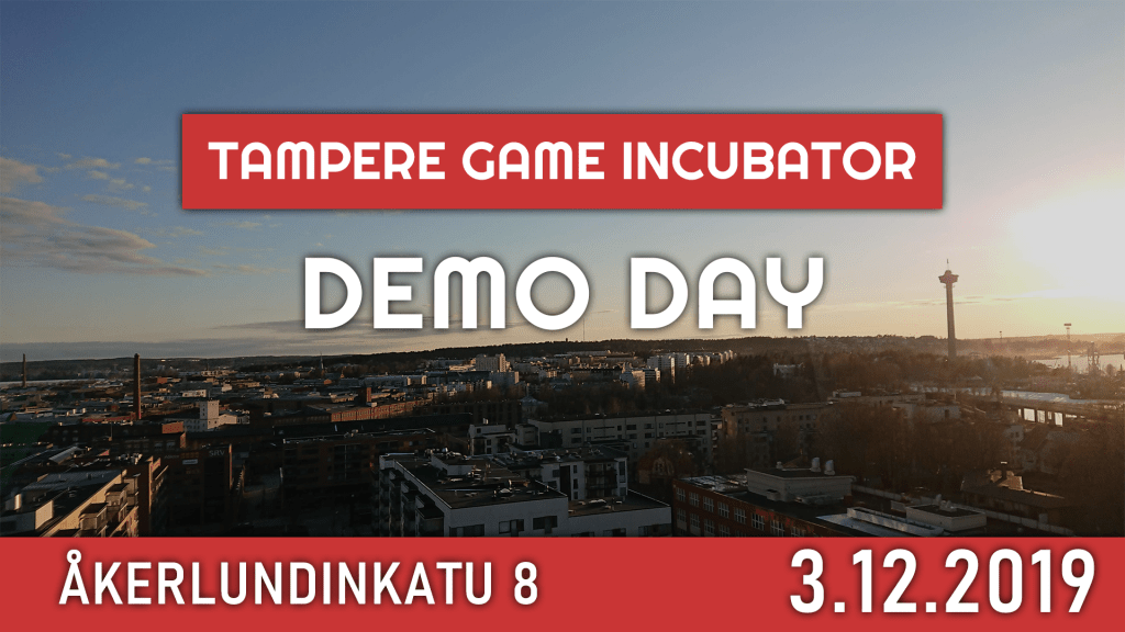 This image has an empty alt attribute; its file name is TampereGameIncubatorDemoDay-1024x576.png