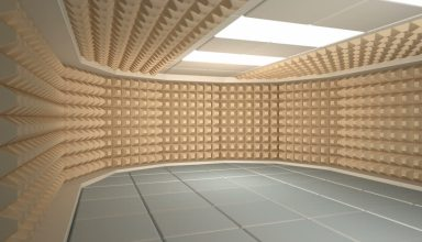 غرفة عازلة للصوت