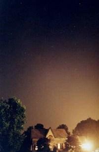 Goodword kasabasında bir gece görüntüsü