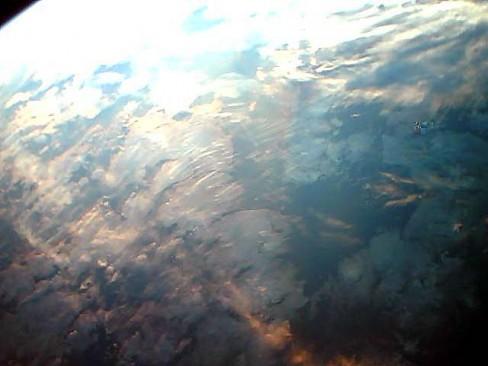 Resim-. Kamera objektifinden Dünyanın görünüşü.